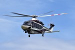 ヘリオスさんが、東京ヘリポートで撮影した日本法人所有 AW139の航空フォト(写真)
