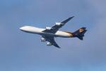 OMAさんが、ダニエル・K・イノウエ国際空港で撮影したUPS航空 747-8Fの航空フォト(写真)