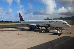OMAさんが、リフエ空港で撮影したデルタ航空 757-251の航空フォト(飛行機 写真・画像)