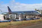 OMAさんが、リフエ空港で撮影したアメリカン航空 757-23Nの航空フォト(写真)