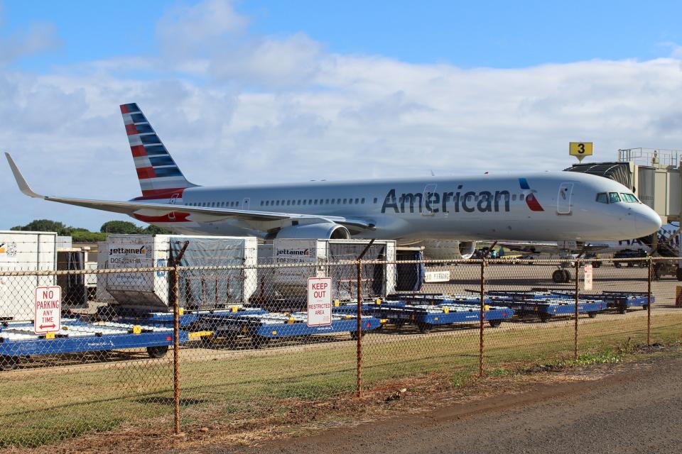 OMAさんのアメリカン航空 Boeing 757-200 (N205UW) 航空フォト