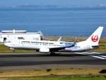 bluesky05さんが、中部国際空港で撮影した日本トランスオーシャン航空 737-8Q3の航空フォト(写真)