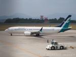 OM Aviation Imagesさんが、広島空港で撮影したシルクエア 737-8-MAXの航空フォト(写真)