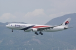 HEATHROWさんが、香港国際空港で撮影したマレーシア航空 A330-323Xの航空フォト(写真)