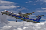 いっち〜@RJFMさんが、宮崎空港で撮影したANAウイングス DHC-8-402Q Dash 8の航空フォト(写真)