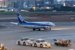 らむえあたーびんさんが、福岡空港で撮影したANAウイングス 737-54Kの航空フォト(写真)