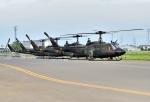 バーダーさんが、札幌飛行場で撮影した陸上自衛隊 UH-1Jの航空フォト(写真)