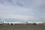 安芸あすかさんが、千歳基地で撮影した航空自衛隊 747-47Cの航空フォト(写真)