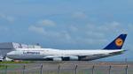 パンダさんが、羽田空港で撮影したルフトハンザドイツ航空 747-830の航空フォト(写真)