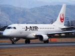 ken1☆MYJさんが、松山空港で撮影したジェイ・エア ERJ-170-100 (ERJ-170STD)の航空フォト(写真)