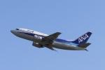 こじこじさんが、宮崎空港で撮影したANAウイングス 737-5L9の航空フォト(写真)