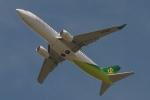 木人さんが、成田国際空港で撮影した春秋航空日本 737-8ALの航空フォト(写真)