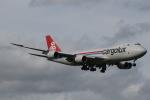 RAOUさんが、成田国際空港で撮影したカーゴルクス 747-8R7F/SCDの航空フォト(写真)
