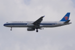 PASSENGERさんが、スワンナプーム国際空港で撮影した中国南方航空 A321-231の航空フォト(写真)