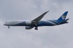 PASSENGERさんが、スワンナプーム国際空港で撮影したオマーン航空 787-9の航空フォト(写真)