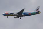 PASSENGERさんが、スワンナプーム国際空港で撮影したバンコクエアウェイズ A320-232の航空フォト(写真)