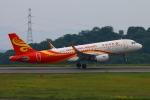 Kuuさんが、岡山空港で撮影した香港航空 A320-214の航空フォト(飛行機 写真・画像)