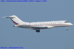 Chofu Spotter Ariaさんが、羽田空港で撮影したネットジェット・インターナショナル BD-700-1A10 Global 6000の航空フォト(飛行機 写真・画像)