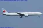 Chofu Spotter Ariaさんが、羽田空港で撮影したエア・カナダ 777-333/ERの航空フォト(飛行機 写真・画像)