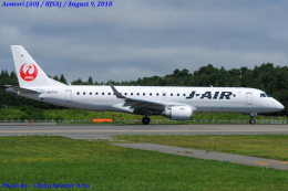 Chofu Spotter Ariaさんが、青森空港で撮影したジェイ・エア ERJ-190-100(ERJ-190STD)の航空フォト(写真)