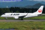 Chofu Spotter Ariaさんが、花巻空港で撮影したジェイ・エア ERJ-170-100 (ERJ-170STD)の航空フォト(写真)
