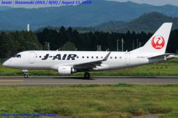Chofu Spotter Ariaさんが、花巻空港で撮影したジェイ・エア ERJ-170-100 (ERJ-170STD)の航空フォト(飛行機 写真・画像)