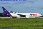 Chofu Spotter Ariaさんが、成田国際空港で撮影したフェデックス・エクスプレス 777-F28の航空フォト(飛行機 写真・画像)