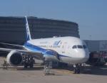 Kanatoさんが、パリ シャルル・ド・ゴール国際空港で撮影した全日空 787-9の航空フォト(飛行機 写真・画像)