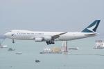 HEATHROWさんが、香港国際空港で撮影したキャセイパシフィック航空 747-867F/SCDの航空フォト(写真)