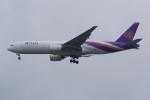 PASSENGERさんが、スワンナプーム国際空港で撮影したタイ国際航空 777-2D7/ERの航空フォト(写真)