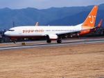 ken1☆MYJさんが、松山空港で撮影したチェジュ航空 737-8HXの航空フォト(写真)