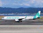 White Pelicanさんが、関西国際空港で撮影したエアソウル A321-231の航空フォト(写真)