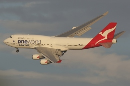 ファインディングさんが、羽田空港で撮影したカンタス航空 747-438/ERの航空フォト(写真)
