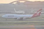 Orange linerさんが、羽田空港で撮影したカンタス航空 747-438の航空フォト(写真)