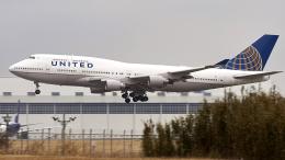 FlyingMonkeyさんが、成田国際空港で撮影したユナイテッド航空 747-451の航空フォト(飛行機 写真・画像)