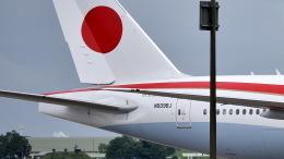 ららぞうさんが、千歳基地で撮影した航空自衛隊 777-3SB/ERの航空フォト(写真)
