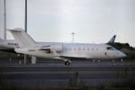 スポット110さんが、羽田空港で撮影したプライベートエア CL-600-2B16 Challenger 650の航空フォト(写真)