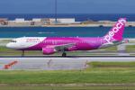 PASSENGERさんが、那覇空港で撮影したピーチ A320-214の航空フォト(写真)