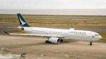 さんぜんさんが、中部国際空港で撮影したキャセイパシフィック航空 A330-343Xの航空フォト(飛行機 写真・画像)