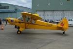 E-75さんが、札幌飛行場で撮影した水上機システム PA-18-150 Super Cubの航空フォト(写真)