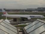 さゆりんごさんが、羽田空港で撮影した日本航空 777-346の航空フォト(写真)
