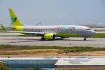 delawakaさんが、那覇空港で撮影したジンエアー 737-8SHの航空フォト(写真)