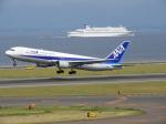 おっつんさんが、中部国際空港で撮影した全日空 767-381の航空フォト(飛行機 写真・画像)