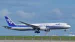 パンダさんが、羽田空港で撮影した全日空 787-9の航空フォト(写真)