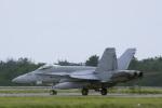 senyoさんが、小松空港で撮影したアメリカ海軍 F/A-18C Hornetの航空フォト(写真)