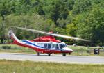 プリンスさんが、松本空港で撮影した埼玉県防災航空隊 AW139の航空フォト(写真)