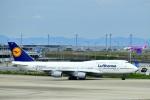 @あきやんさんが、関西国際空港で撮影したルフトハンザドイツ航空 747-430の航空フォト(写真)