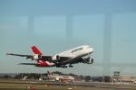 職業旅人さんが、シドニー国際空港で撮影したカンタス航空 A380-842の航空フォト(写真)