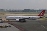 ケンジウムさんが、アムステルダム・スキポール国際空港で撮影したターキッシュ・エアラインズ A330-223の航空フォト(写真)