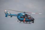 はやたいさんが、名古屋飛行場で撮影した愛知県警察 BK117C-2の航空フォト(写真)